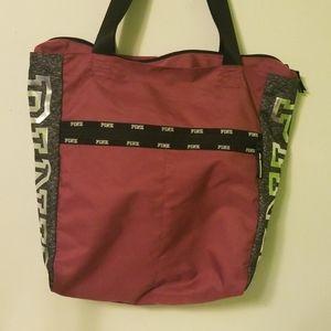 Victoria's Secret PINK Gym Bag And Pouch Bundle